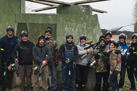 Outdoor Private Paintball Party