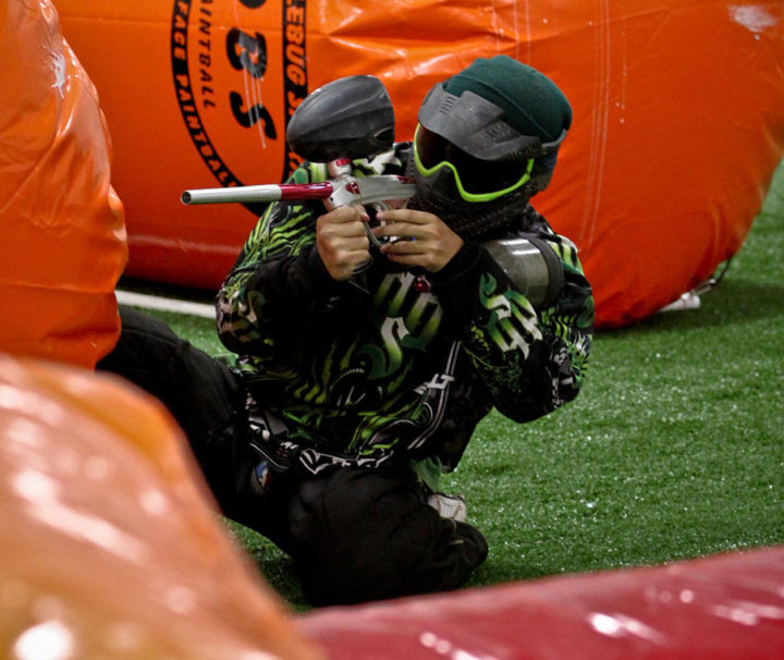 Indoor Paintball Arena Open Sessions